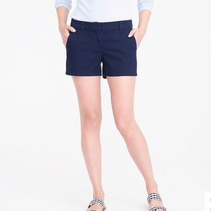 J. Crew Chino Short Black Label Size 4